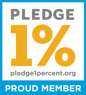 Pledge 1% is dedicated